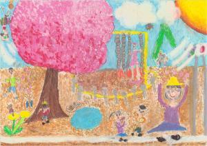 『市の木・市の鳥・市の花絵画コンクール優秀作品』の画像