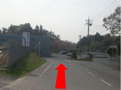 『清掃センターの坂を下ります』の画像