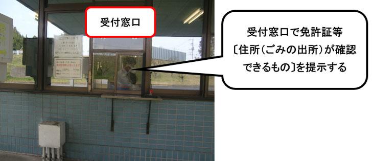 『受付窓口』の画像