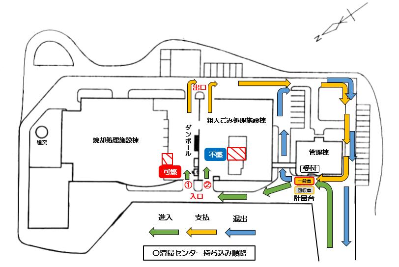 『順路マップ』の画像