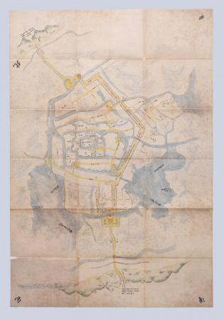 『復刻 土浦城図 常陸国新治郡土浦城図』の画像