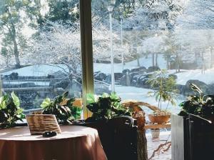 【レストハウス画像】レストランフロア冬