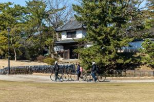 サイクリング亀城公園