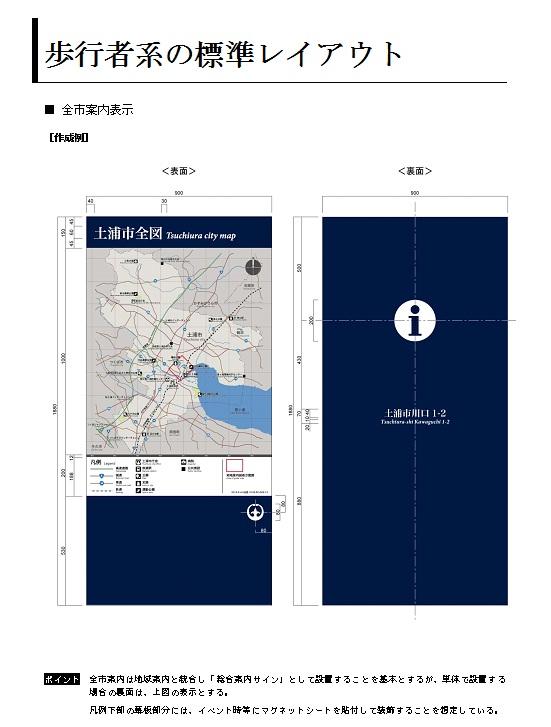 土浦市公共サインデザインマニュアル