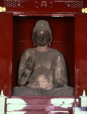 『木造薬師如来坐像(常福寺)』の画像