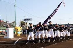 土浦市長杯軟式少年野球大会開会式