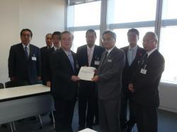 茨城県南常磐線輸送力増強期成同盟会 JR東日本本社要望