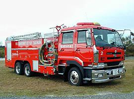水槽付消防ポンプ自動車 8000リットル