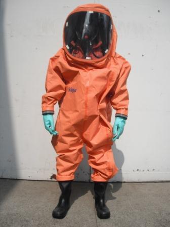 化学防護服前