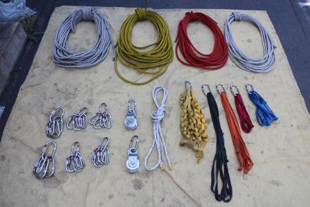 救助ロープ